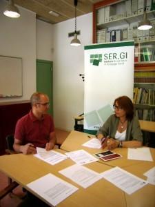 Assegurances M. Rosa Agusti patrocina la fundació Ser.Gi de Girona