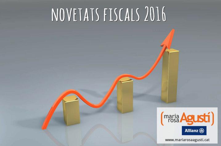 Novetats Fiscals 2016