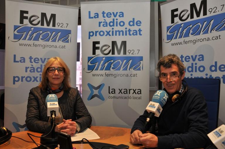 M. Rosa Agustí, Assegurances Allianz Girona, a FemGirona