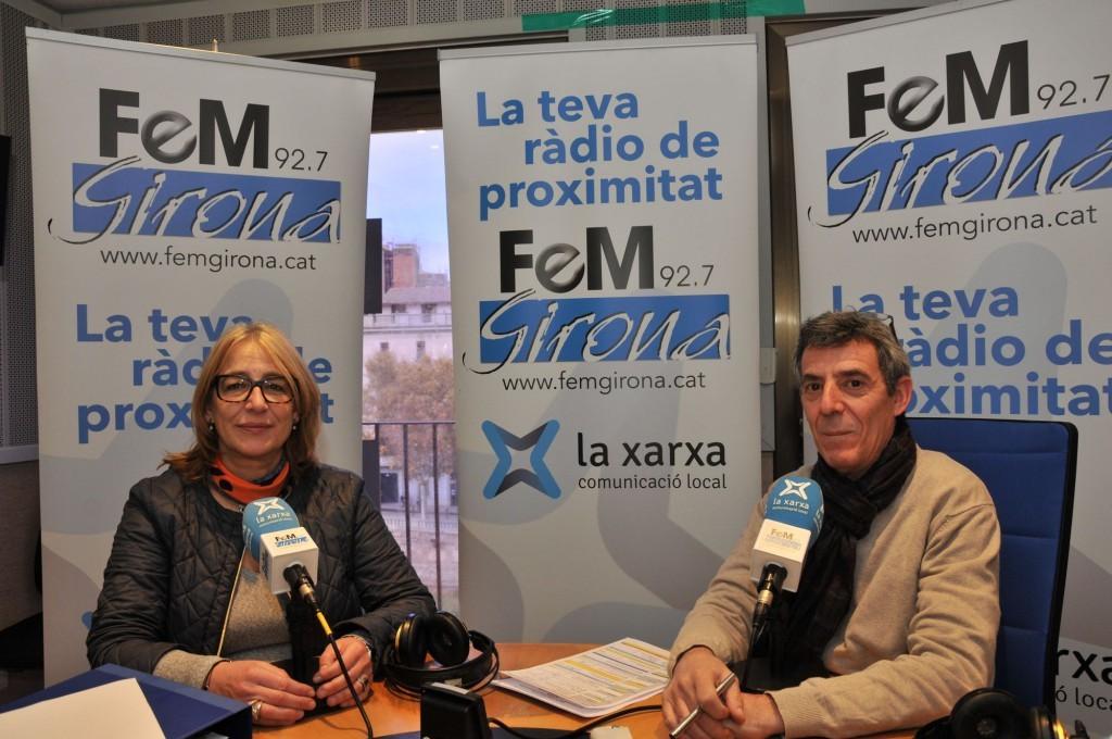 Entrevista a M. Rosa Agustí a Fem Girona. Beneficiaris en cas d'accident.